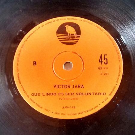 La bala/Qué lindo es ser voluntario (Víctor Jara) [1972]