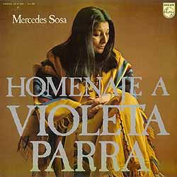 Homenaje a Violeta Parra (Mercedes Sosa) [1971]