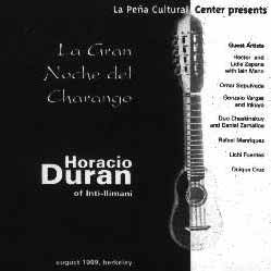 La gran noche del Charango (Horacio Durán + Colectivo)