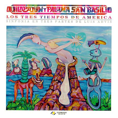 Los tres tiempos de América (Quilapayún + Paloma San Basilio) [1988]