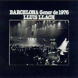 Barcelona. Gener de 1976 (Lluís Llach) [1976]