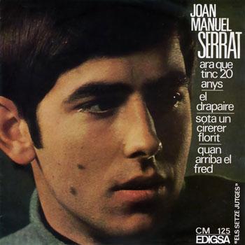 Ara que tinc vint anys (Joan Manuel Serrat) [1966]