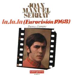 La, la, la (italiano) (Joan Manuel Serrat) [1968]