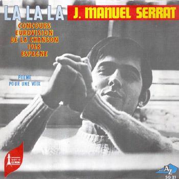 La, la, la (francés) (Joan Manuel Serrat) [1968]