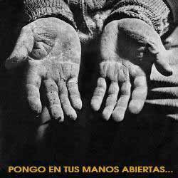 Pongo en tus manos abiertas (WARNER) (Víctor Jara)