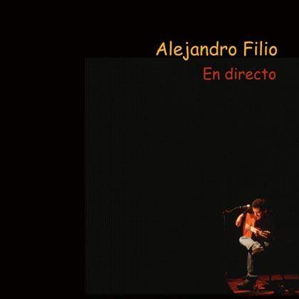En directo (Alejandro Filio)