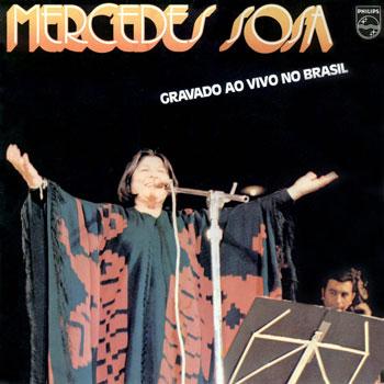 Gravado ao vivo no Brasil (Mercedes Sosa) [1980]