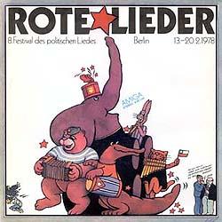 8. Festival des politischen Liedes - Rote Lieder (Obra colectiva) [1978]