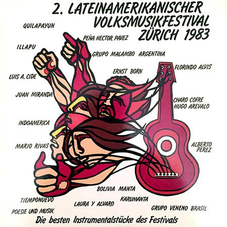 2 Lateinamerikanischer volksmusikfestival (Obra colectiva) [1983]