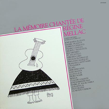 La mémoire chantée de Régine Mellac (Obra colectiva)
