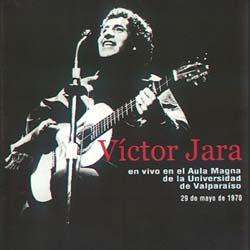 En vivo en el Aula Magna de la Universidad de Valpara�so (V�ctor Jara)