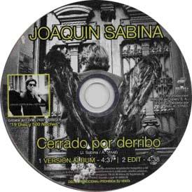 Cerrado por derribo (Joaqu�n Sabina)