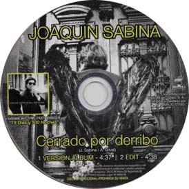Cerrado por derribo (Joaquín Sabina)