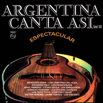 Argentina canta así Vol. III (Obra colectiva) [1972]