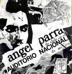 Ángel Parra en el Auditorio Nacional de México (Ángel Parra)