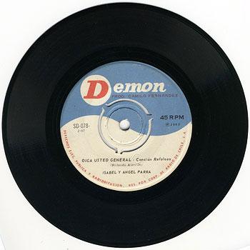 Demon SD-078 (Isabel y Ángel Parra) [1965]