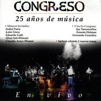 25 años de música (Congreso)