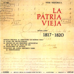 La patria vieja, vol III (1817-1820) (Daniel Viglietti + Alberto Candeau)