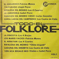Todo el folklore, vol I (Obra colectiva) [1965]