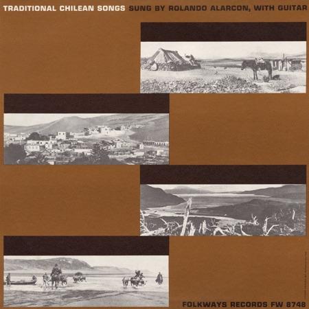 Traditional chilean songs (Rolando Alarcón) [1960]