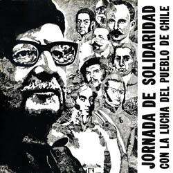 Jornada de solidaridad con la lucha del pueblo de Chile (Obra colectiva) [1974]