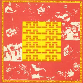 Encuentro de música latinoamericana, Casa de las Américas / Sep. 1972 (Obra colectiva)