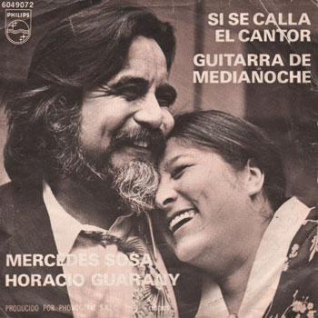 Si se calla el cantor / Guitarra de medianoche (Mercedes Sosa - Horacio Guarany)