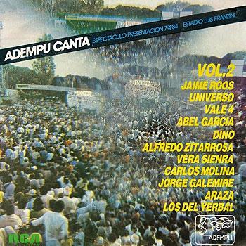ADEMPU canta – vol. 2 (Obra colectiva) [1984]