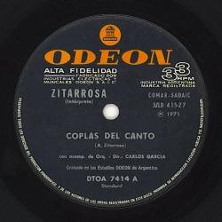 Simple Odeon DTOA 7414 (Alfredo Zitarrosa) [1971]