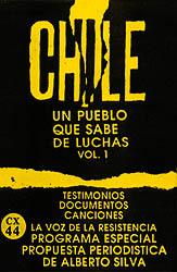 Chile, un pueblo que sabe de luchas, vol 1 (Obra colectiva) [1988]