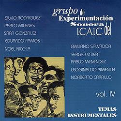 Grupo de Experimentación Sonora del ICAIC, vol IV (GESI) [1997]