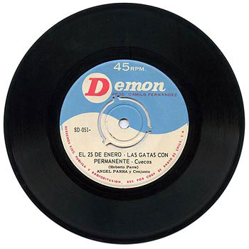 Demon SD-051 (EP) (Ángel Parra) [1964]