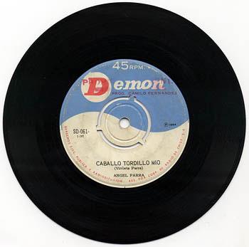 Demon SD-061 (Ángel Parra) [1964]