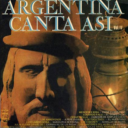Argentina canta así Vol. IV (Obra colectiva) [1974]