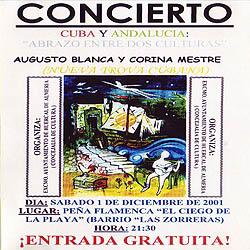 Cuba y Andalucía: abrazo entre dos culturas (Augusto Blanca – Corina Mestre) [2001]
