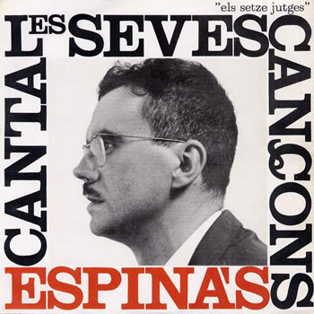 Espinàs canta les seves cançons (Josep Maria Espinàs) [1963]