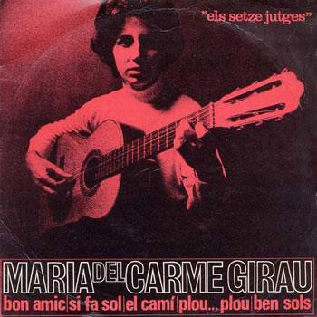 Canta les seves cançons (Maria del Carme Girau)