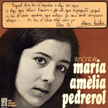 Recital Maria Amèlia Pedrerol (Maria Amèlia Pedrerol)