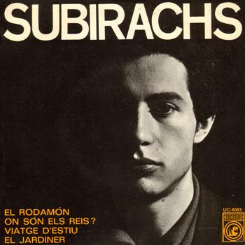 Canta les seves cançons (2) (Rafael Subirachs) [1966]