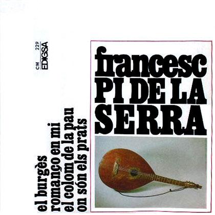 El burg�s (Francesc Pi de la Serra)