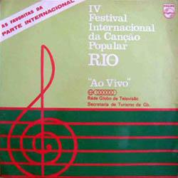 IV Festival Internacional da Canção Popular Rio (Parte internacional) (Obra colectiva)