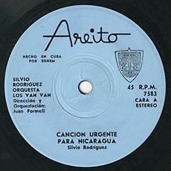 Canción urgente para Nicaragua / Décimas sobre mi abuelo (Silvio Rodríguez y Orquesta Los Van Van)