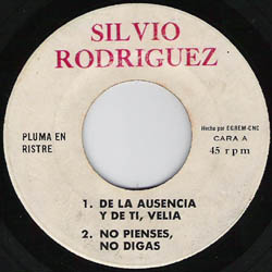 Pluma en ristre (Silvio Rodríguez) [1969]