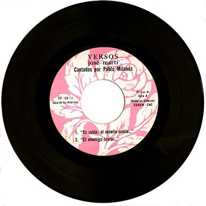 EP CA-14 (Pablo Milanés) [1973]