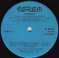 Hermanos (EP) (Noel Nicola)