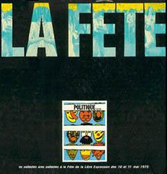 La Fête de la Libre Expression (Obra colectiva) [1975]