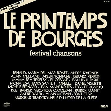 Le Printemps de Bourges (Obra colectiva)