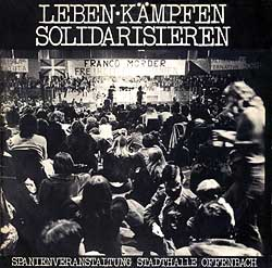 Leben, kämpfen, solidarisieren (Obra colectiva) [1975]
