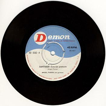 Demon SD-0182 (SG) (Ángel Parra) [1965]