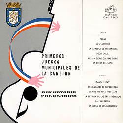 Primeros juegos municipales de la canción (Obra colectiva) [1965]
